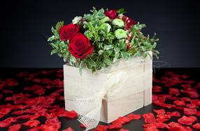 El bouquet de rosas más romántico y espectacular