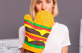 Los guantes de cocina más divertidos