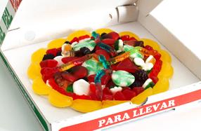 Pizza de gominolas para los más golosos