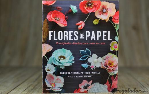 flores-papel-libro