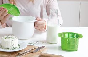Lékué Cheese maker: el kit para hacer queso fresco casero