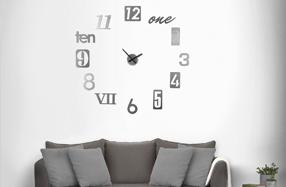 """Reloj de pared de diseño """"Numbra"""""""