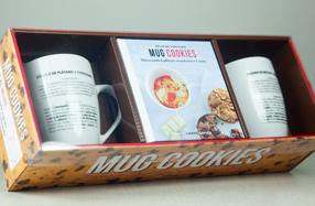 """Kit """"Mug Cookies"""" para hacer galletas en el microondas"""