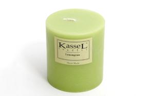 Vela aromática grande con esencia Lemongrass Kassel