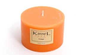Vela aromática con esencia de naranja Kassel