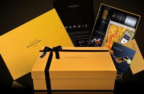 Chamois: estuche de maridaje gourmet Bronze & Mora