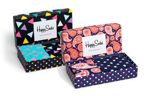 Caja regalo para mujer con ropa interior y calcetines de diseño