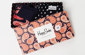 Caja regalo para hombre con boxer y calcetines de diseño