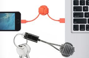 Llavero conector para dispositivos Apple