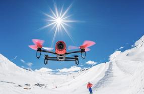 Bebop: el drone para grabar imágenes y vídeos full HD de Parrot