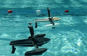 Hydrofoil: mini drone híbrido para agua y aire de Parrot