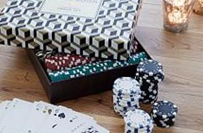 Set de poker de diseño