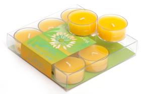 Set de dos cajas con 9 velas Tea Light con aroma a lima limón