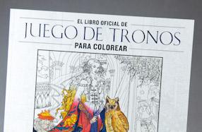 El libro para colorear para fans de Juego de Tronos