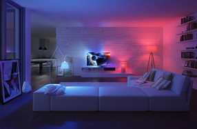 Philips Hue White and Color Ambiance: kit de inicio A19