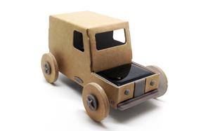 Autogami: el coche solar de cartón