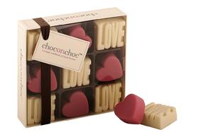 Los corazones de chocolate más románticos