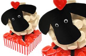 La ovejita de chuches más dulce y romántica