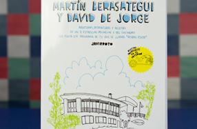 """""""Aventuras, desventuras y recetas"""" de Martín Berasategui y David de Jorge"""