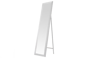 Espejo de pie de madera
