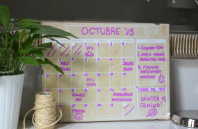 Calendario mensual personalizable