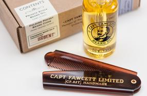 """""""Captain Fawcett"""": tradición y estilo en el cuidado de la barba"""