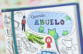 El libro personalizable para abuelos y nietos