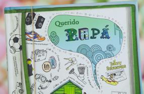'Querido Papá': el libro personalizable para padres e hijos