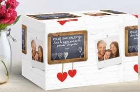 Papel de regalo personalizado para recién casados