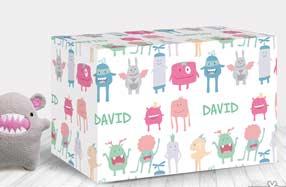 Papel de regalo personalizado para niños