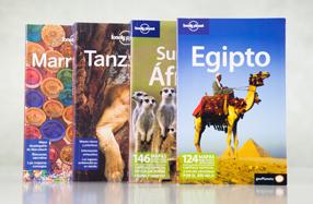 Guías Lonely Planet de países africanos