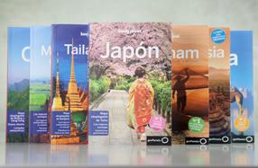 Guías Lonely Planet de países asiáticos