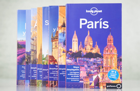 Guías de ciudades europeas Lonely Planet