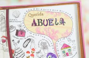 El libro personalizable para abuelas y nietos