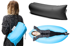 LAMZAC: el sillón hinchable y portátil más cómodo