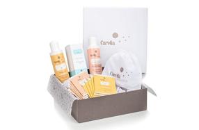 Pack de cosmética premium para bebés de Carelia