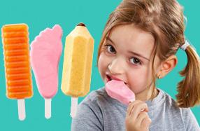 Set de moldes de helados icónicos Lékué