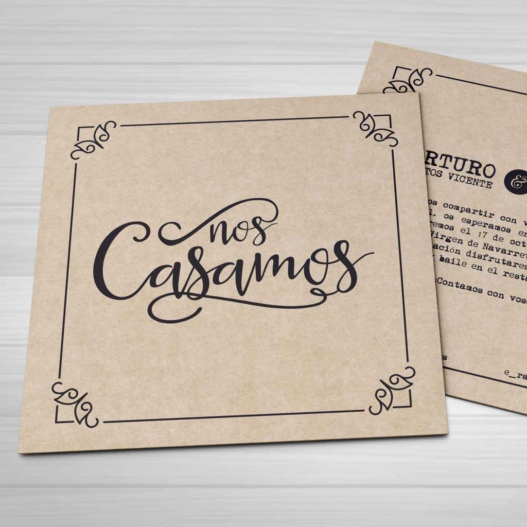 invitacion-de-boda-nos-casamos-kraft-lettering-invitaciones-diquesi-1
