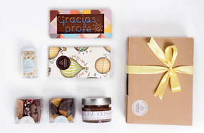 Packs de chocolates gourmets para profesores