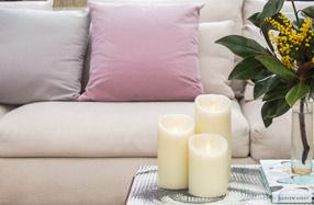 Luminara: las velas eléctricas de interior más seguras