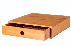 """Caja de Bambú para cápsulas """"Dolce Gusto"""""""