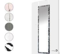 Espejo de puerta con distintos estilos