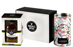 Estuche gourmet especial para hacer paella 'Iberic Box'