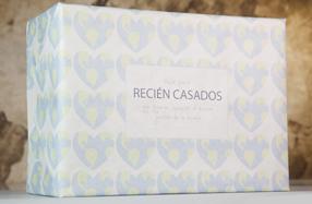 Pack de regalo para recién casados viajeros