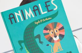 """""""Animales"""": el libro gigante de ilustraciones para niños"""