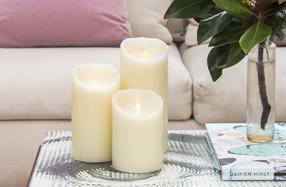 Luminara: Las velas eléctricas más realistas