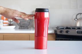 Mighty Mug: los únicos termos que no vuelcan