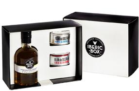 Pack gourmet Flor de Sal y aceite 'Iberic Box'