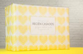 Packs de regalo para sorprender a recién casados