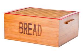 Panera de bambú para mantener el pan perfecto